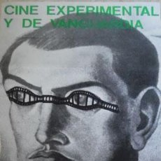 Cine: CARTEL FOLLETO CINE EXPERIMENTAL DE VANGUARDIA ALCOY, 1982, CAJA AHORROS PROVINCIAL ALICANTE 28X74 C. Lote 130908428