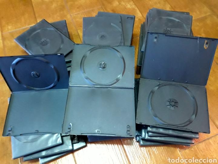 Cine: 50 Estuches vacíos DVD color negro - Foto 2 - 131122431