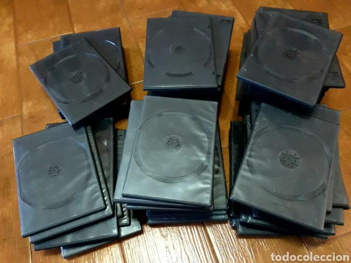 Cine: 50 Estuches vacíos DVD color negro - Foto 3 - 131122431