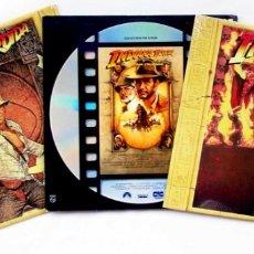 Cine: INDIANA JONES. LA TRILOGÍA COMPLETA. LASER DISC. 4 DISCOS. ESPAÑA. AÑO: 1991.. Lote 131161984