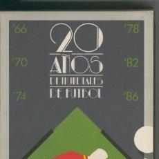 Cinéma: VIDEO VHS: 20 AÑOS DE MUNDIALES DE FUTBOL. Lote 131426111