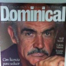 Cine: SEAN CONNERY (DOMINICAL 1996. Lote 132310118