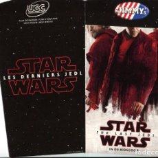 Cine: STAR WARS, THE LAST JEDI. VASO MEDIANO.. Lote 133227102