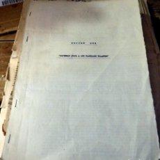 Cine: 1965, CONTRATO DE DISTRIBUCION ZONA SUR DE LA PELICULA SUPERMAN ATACA A LOS PLATILLOS VOLANTES. Lote 134273954