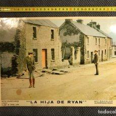 Cine: CINE. (2) LA HIJA DE RYAN. POR DAVID LEAN. CARTELERA (A.1970). Lote 134350042