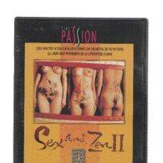 Cine: DVD-CINE: CINE PASSION: SEX AND ZEN II (MANGA FILMS). Lote 134358099