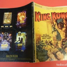 Cine: KING KONG Y OTROS. CATÁLOGO DE IMPORTANTE SUBASTE CARTELES DE CINE AÑO 1999. Lote 135122326