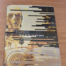 Cine: LIBRO STAR WARS C-3PO TALES OF THE GOLDEN DROID - CHRONICLE BOOKS, 1999 - TAPA DURA, 128 PAG. Lote 135318993