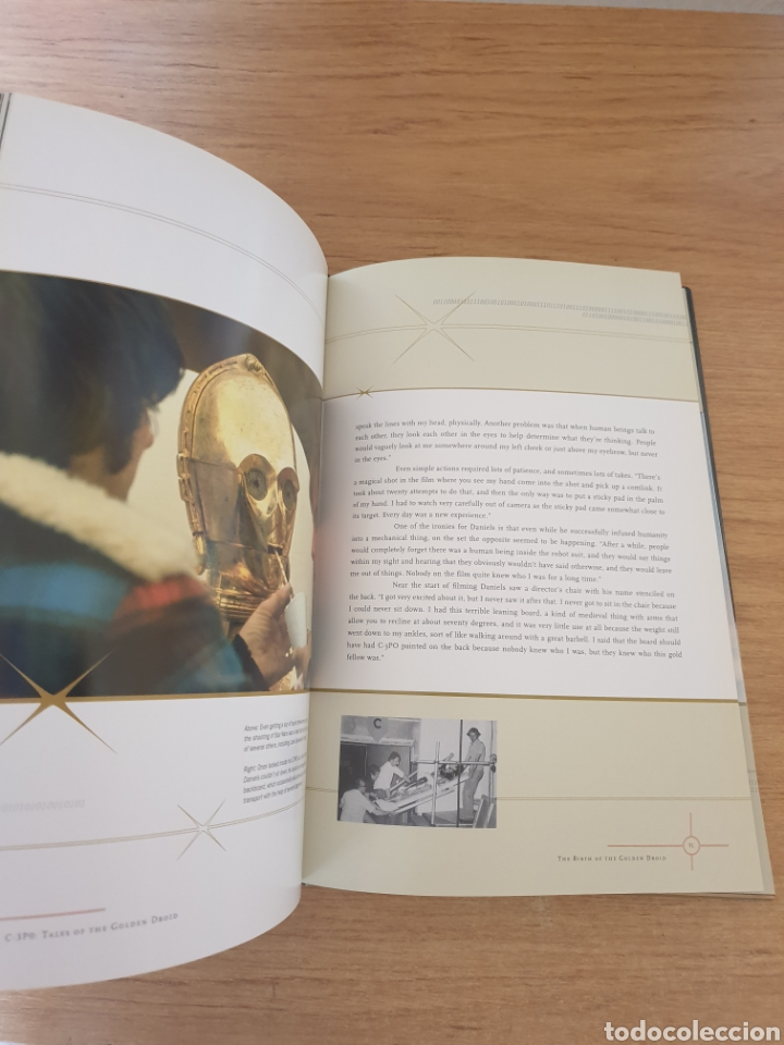 Cine: LIBRO STAR WARS C-3PO TALES OF THE GOLDEN DROID - Chronicle Books, 1999 - Tapa dura, 128 pag - Foto 3 - 135318993