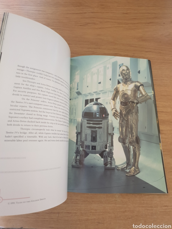 Cine: LIBRO STAR WARS C-3PO TALES OF THE GOLDEN DROID - Chronicle Books, 1999 - Tapa dura, 128 pag - Foto 6 - 135318993