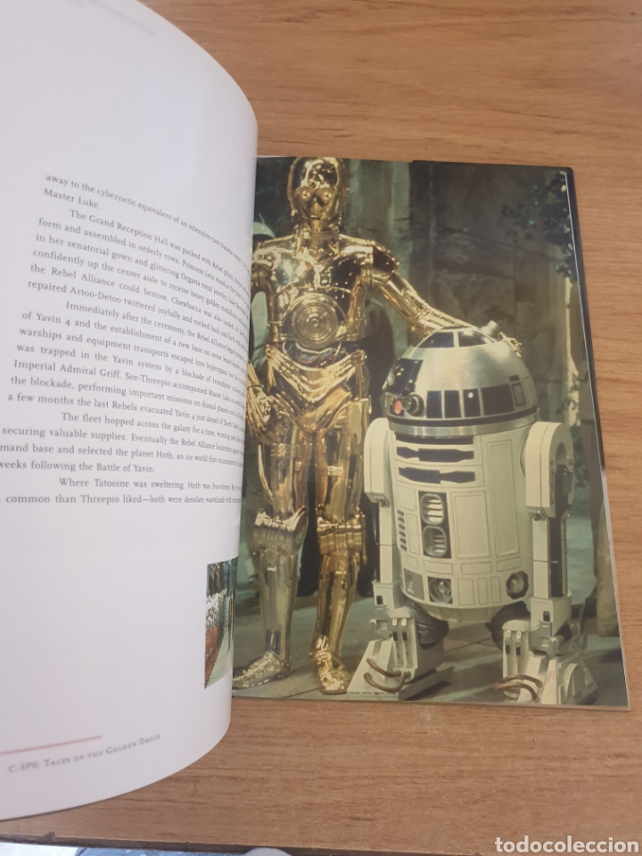 Cine: LIBRO STAR WARS C-3PO TALES OF THE GOLDEN DROID - Chronicle Books, 1999 - Tapa dura, 128 pag - Foto 10 - 135318993