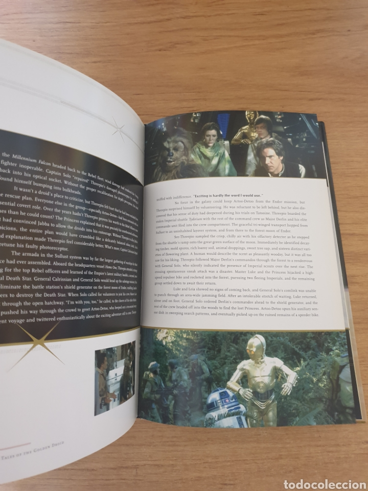 Cine: LIBRO STAR WARS C-3PO TALES OF THE GOLDEN DROID - Chronicle Books, 1999 - Tapa dura, 128 pag - Foto 12 - 135318993