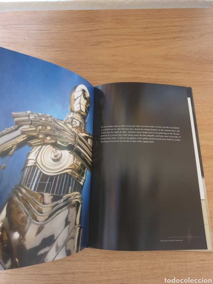 Cine: LIBRO STAR WARS C-3PO TALES OF THE GOLDEN DROID - Chronicle Books, 1999 - Tapa dura, 128 pag - Foto 13 - 135318993