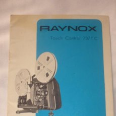 Cine: FOLLETO DE PROYECTOR CINE RAYNOX SATANDAR-8; SUPER- 8; SINGLE-8. Lote 135699107