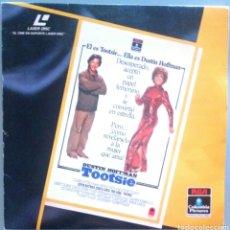 Cine: TOOTSIE / DUSTIN HOFFMAN / PELÍCULA LASER DISC. Lote 136526388
