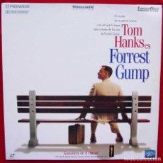 Cinema: FORREST GUMP. TOM HANKS. LASER DISC. 2 DISCOS. AÑO: 1994. BUEN ESTADO.. Lote 136538198