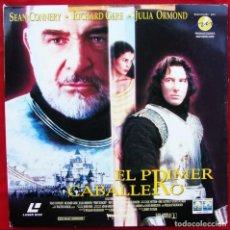 Cinema: EL PRIMER CABALLERO. SEAN CONNERY. RICHARD GERE. LASER DISC. 2 DISCOS. AÑO: 1995.. Lote 136566654