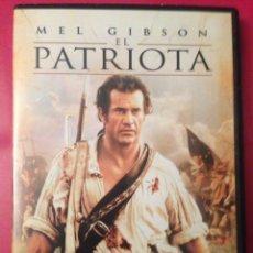 Cine: EL PATRIOTA DVD. Lote 136820244