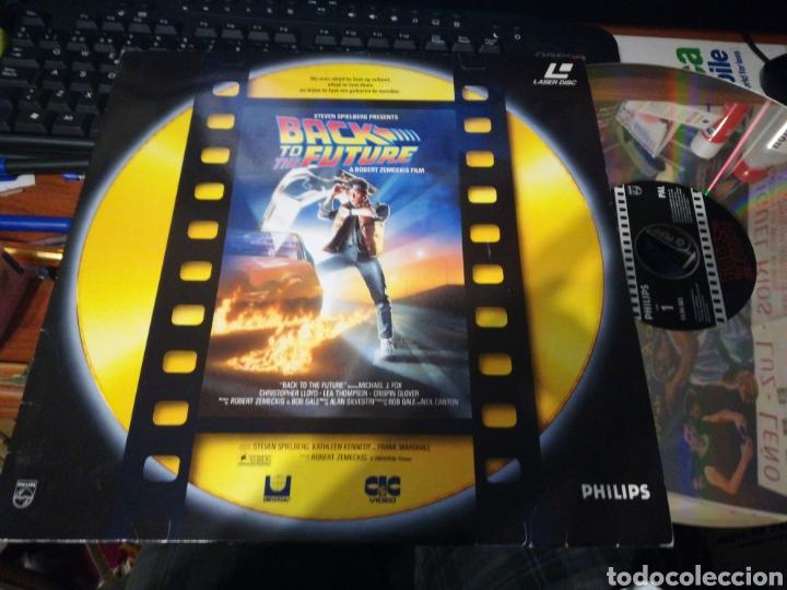 Back to the future láser disc regreso al futuro 1991 segunda mano