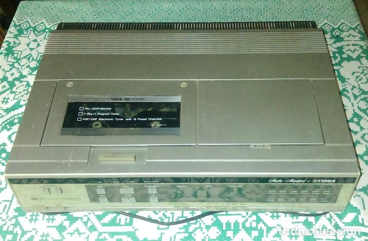 ANTIGUO REPRODUCTOR DE VIDEO VHS FVH-P420 STUDIO - STANDARD BY FISHER (Cine - Varios)