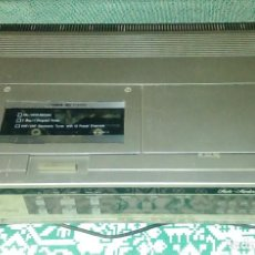 Cine: ANTIGUO REPRODUCTOR DE VIDEO VHS FVH-P420 STUDIO - STANDARD BY FISHER. Lote 137336170