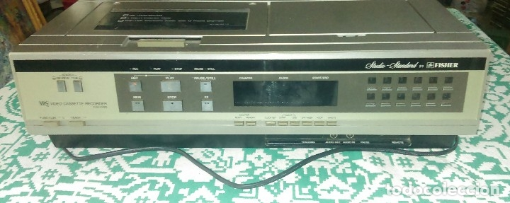 Cine: Antiguo reproductor de video VHS FVH-P420 Studio - Standard by FISHER - Foto 2 - 137336170