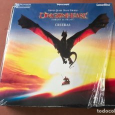 Cine: DRAGONHEART ( LASER DISC ) LASERDISC PRECINTADO. Lote 138792538