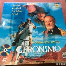 Cine: GERONIMO LASER-DISC. Lote 138813414