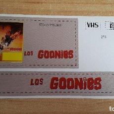 Cine: PEGATINA CINE PELICULA LOS GOONIES - STEVEN SPIELBERG. Lote 138964126