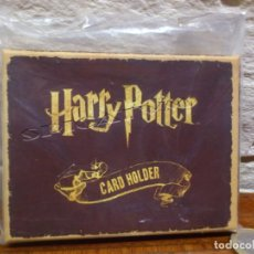 Cine: HARRY POTTER - CARTERA - TARJETERO - CARD HOLDER - PLATFORM 9 3/4 - LICENCIA OFICIAL - NUEVO. Lote 139009490