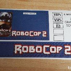 Cine: PEGATINA CINE PELICULA -- ROBOCOP 2. Lote 139018106