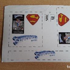 Cine: PEGATINA CINE PELICULA -- SUPERMAN -- CHRISTOPHER REEVE. Lote 139024826