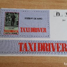Cine: PEGATINA CINE PELICULA -- TAXI DRIVER -- ROBERT DE NIRO. Lote 139026566