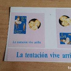 Cine: PEGATINA CINE PELICULA -- LA TENTACION VIVE ARRIBA - MARILYN MONROE. Lote 139034966