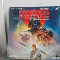 Cine: STAR WARS LASER DISC EL IMPERIO CONTRAATACA. Lote 139066174