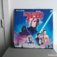 Cine: STAR WARS LASER DISC EL RETORNO DEL JEDI . Lote 139066242