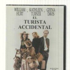 Cine: DVD PELICULA: EL TURISTA ACCIDENTAL. DIRIGIDA POR LAWRENCE KADAN CON WILLIAM HURT, GEENA DAVIS, .... Lote 140299806