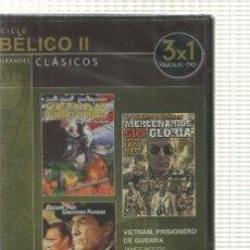 Cine: GRANDES CLASICOS: CICLO BELICO II. VIETNAM PRISIONERO DE GUERRA, MERCENARIOS SIN GLORIA, ESCARLA.... Lote 140299908