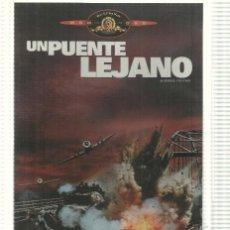 Cine: DVD PELICULA: UN PUENTE LEJANO. DIRIGIDA POR RICHARD ATTENBOROUGH CON MICHAEL CAINE, SEAN CONNER.... Lote 140300133