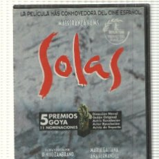 Cine: DVD PELICULA: SOLAS. DIRIGIDA POR BENITO ZAMBRANO CON MARIA GALIANA, ANA FERNANDEZ, CARLOS ALVAREZ. Lote 140300666