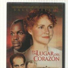 Cine: DVD PELICULA: EN UN LUGAR DEL CORAZON. CON SALLY FIELD, JOHN MALKOVICH, ED HARRIS, DANNY GLOVER. Lote 140300944