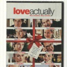 Cine: DVD PELICULA: LOVE ACTUALLY - RICHARD CURTIS CON HUGH GRANT, LIAM NEESON, COLIN FIRTH, LAURA LINNEY. Lote 140301156