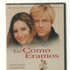 Cine: DVD PELICULA: TAL COMO ERAMOS. DIRIGIDA POR SYDNEY POLLACK CON BARBRA STREISAND, ROBERT REDFORD. Lote 140302012