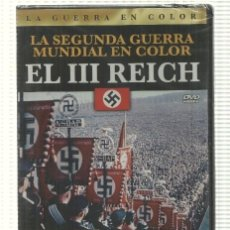 Cine: DVD DOCUMENTAL: EL III REICH. LA GUERRA EN COLOR - LA SEGUNDA GUERRA MUNDIAL EN COLOR. Lote 140302245