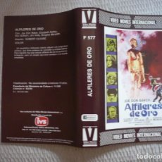 Cine: (SOLO CARATULA ORIGINAL BETA) ALFILERES DE ORO.. Lote 140485814