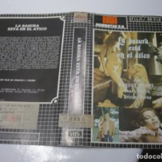 Cine: (SOLO CARATULA ORIGINAL VHS) LA BASURA ESTA EN EL ATICO.. Lote 140486430