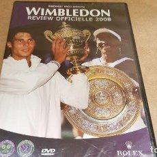 Cine: WIMBLEDON / REVIEW OFFICIELLE 2008 / DVD - PRECINTADO.. Lote 140909726