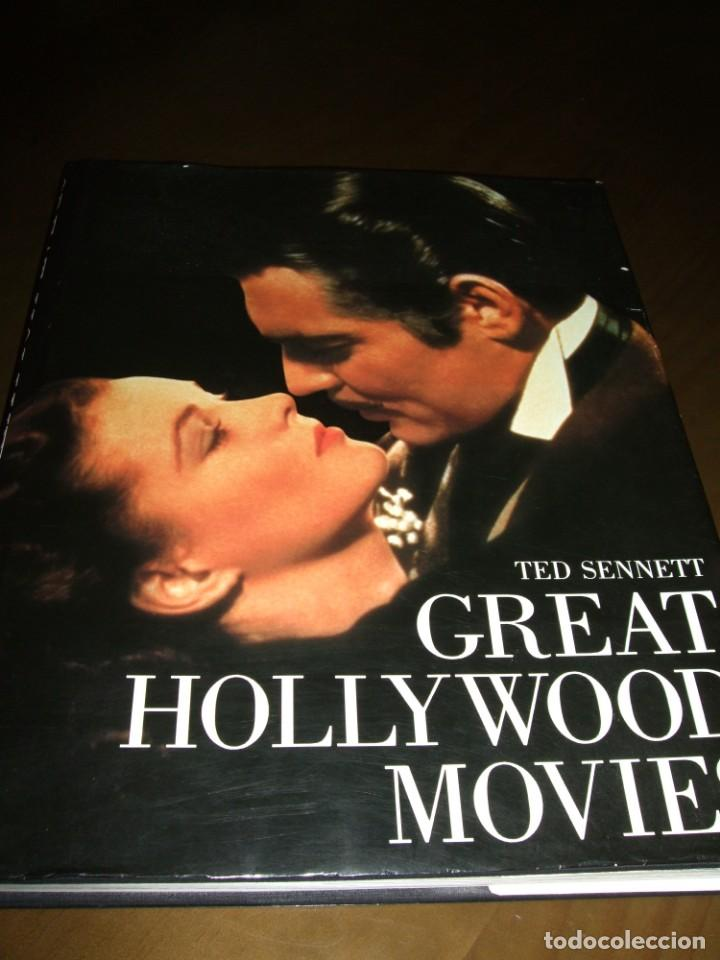 LIBRO GRAN FORMATO 1983 GREAT HOLLYWOOD MOVIES TED PUBLISHED BY ABRADALE/ABRAMS (Cine - Varios)