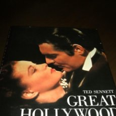 Cine: LIBRO GRAN FORMATO 1983 GREAT HOLLYWOOD MOVIES TED PUBLISHED BY ABRADALE/ABRAMS. Lote 141739746