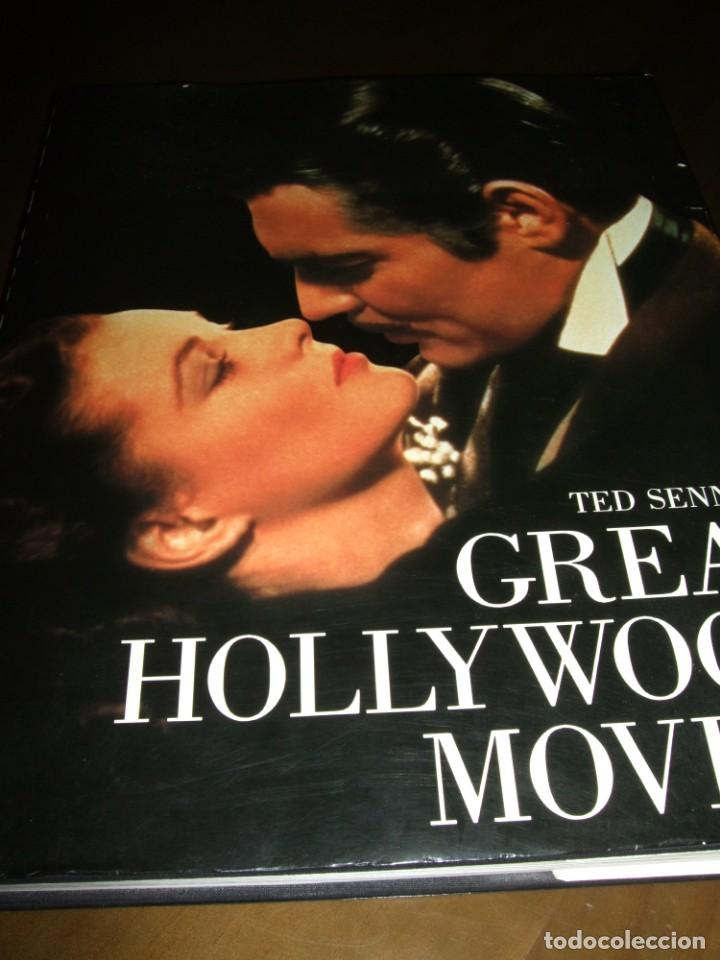 Cine: LIBRO GRAN FORMATO 1983 Great Hollywood Movies Ted Published by Abradale/Abrams - Foto 16 - 141739746